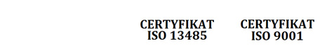 TUV, CE, ISO 9001, IQNet Certified
